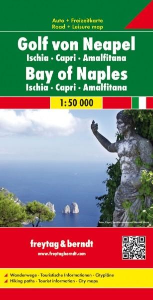 F&B Autokarte + Freizeitkarte Golf von Neapel
