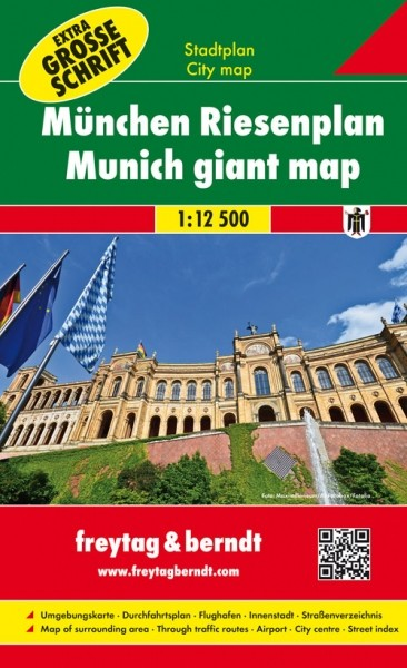 F&B Stadtplan München