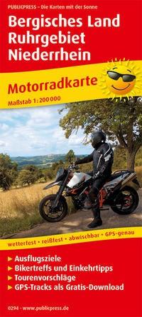Motorradkarte Berg.Land - Ruhrgebiet - Niederrhein
