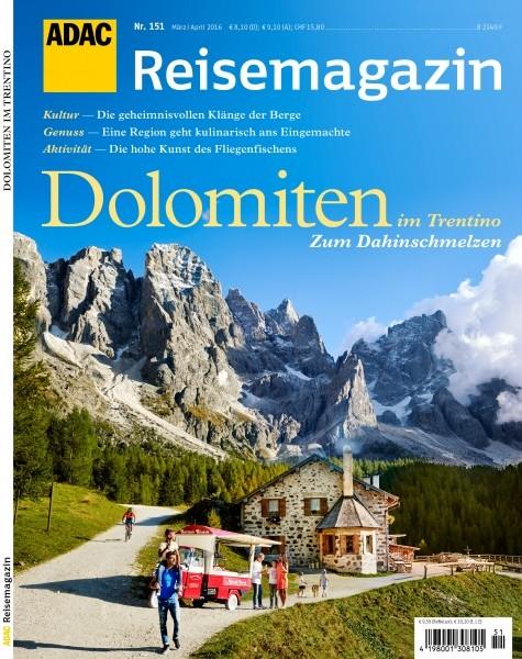 ADAC Reisemagazin Dolomiten