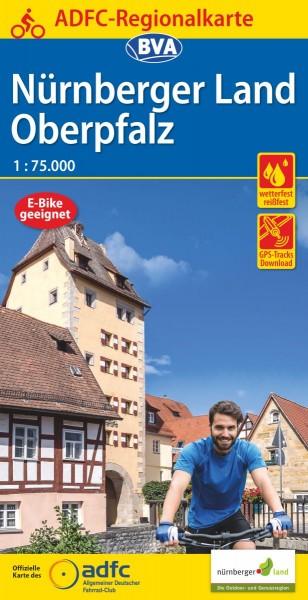 ADFC Regionalkarte Nürnberger Land/Oberpfalz