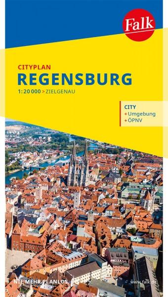 Falk Cityplan Regensburg