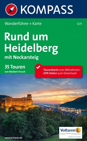 Kompass WF Heidelberg mit Neckarsteig