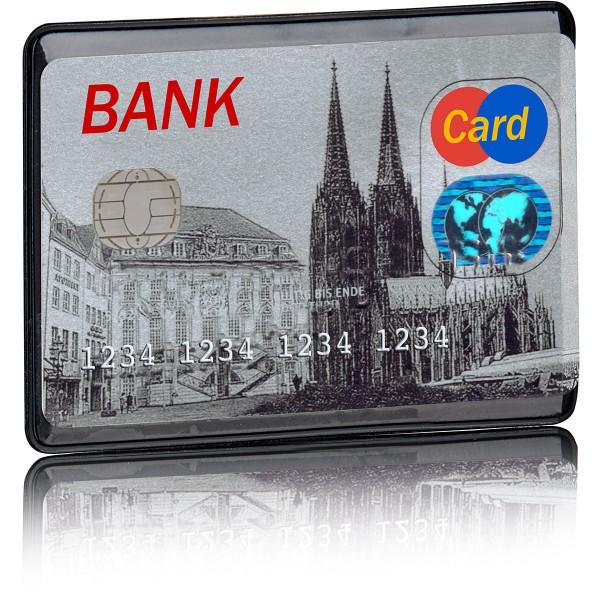 Kreditkartenhülle für 1 Karte