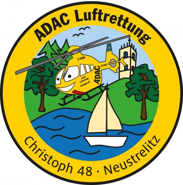 ADAC Luftrettung Fanpatch Christoph 48-Neustrelitz