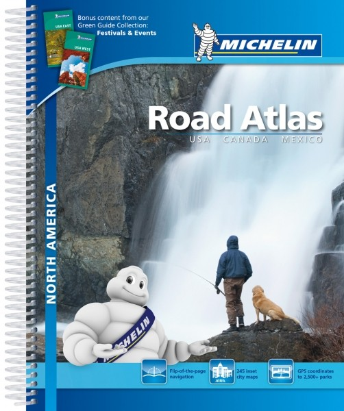 Michelin Atlas Nordamerika