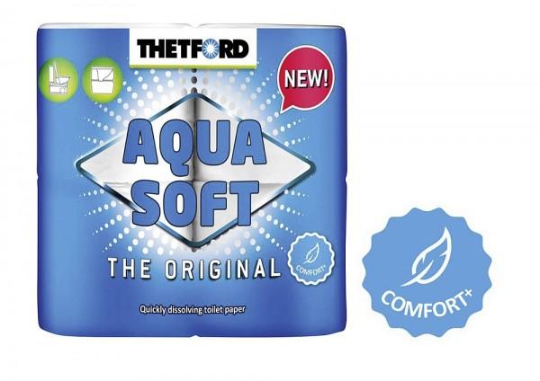 Thetford Toilettenpapier Aqua Soft (4 Rollen)