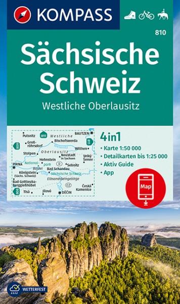 KOMPASS WK Sächsische Schweiz, Westl. Oberlausitz