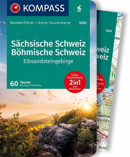 KOMPASS Wanderführer Sächsische Schweiz