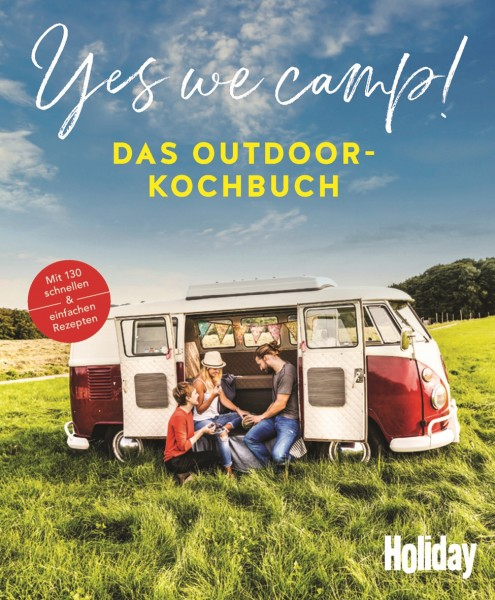 HOLIDAY Yes we camp! Kochbuch