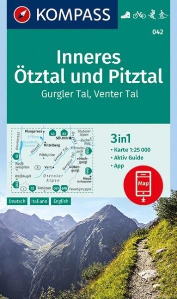 Kompass WK Inneres Ötztal & Pitztal