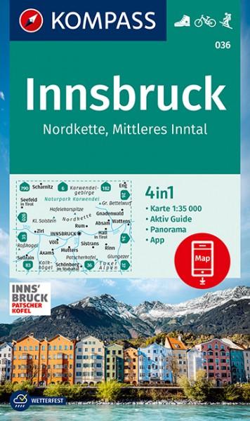 Kompass WK Innsbruck und Umgebung