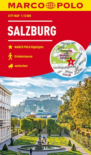 Marco Polo Cityplan Salzburg