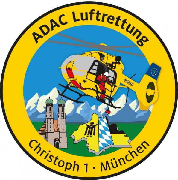 ADAC Luftrettung Fanpatch Christoph 1-München