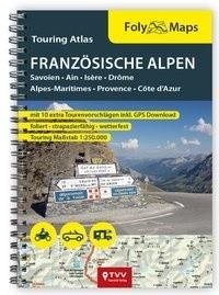 FolyMaps Touringatlas Französische Alpen 1:250.000