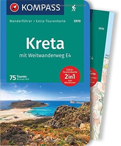 Kompass Wanderführer Kreta