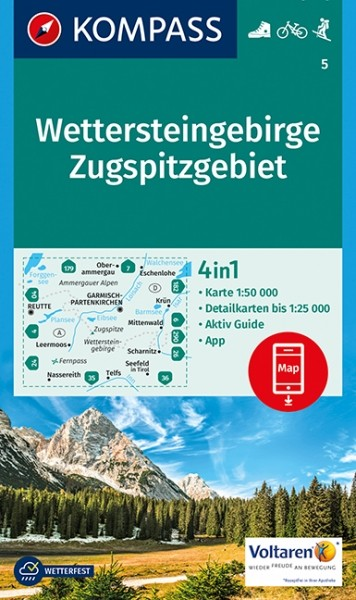 Kompass WK Wettersteingebirge