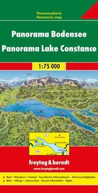 F&B Panoramakarte Bodensee