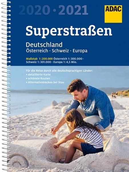 ADAC SuperStraßen Atlas 20/21