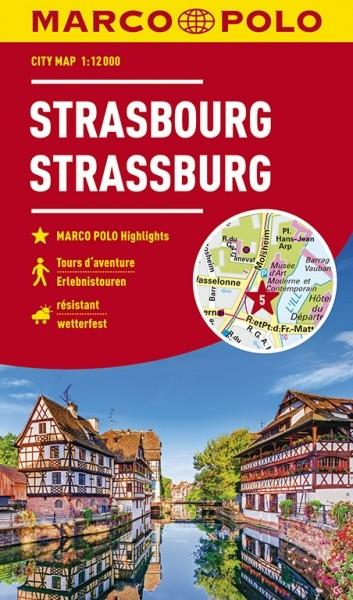 MARCO POLO Cityplan Straßburg