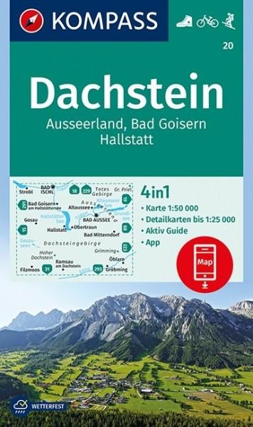 KOMPASS Wanderkarte Dachstein