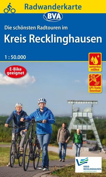 BVA Radwanderkarte Kreis Recklinghausen