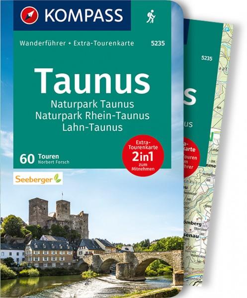 KOMPASS Wanderführer Taunus, Naturpark Taunus