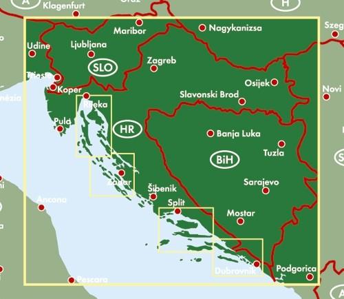 F&B Autokarte Kroatien