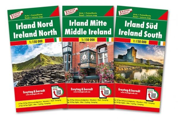 F&B Autokarten Set Irland