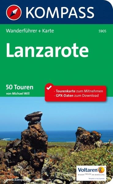 Kompass Wanderführer Lanzarote