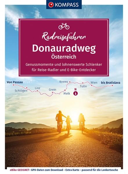 Kompass RadReiseFührer Erlebnis Donauradweg AT