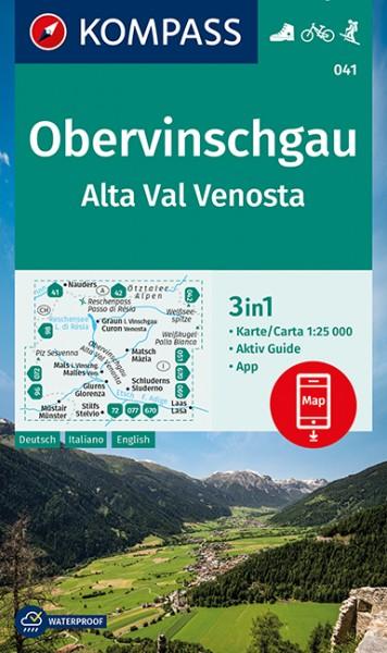 KOMPASS Wanderkarte Silvretta, Verwallgruppe