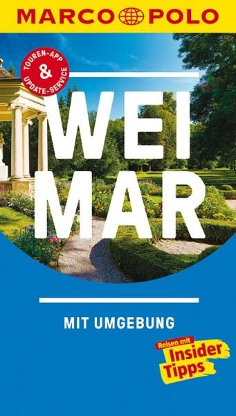 MARCO POLO Reiseführer Weimar mit Umgebung