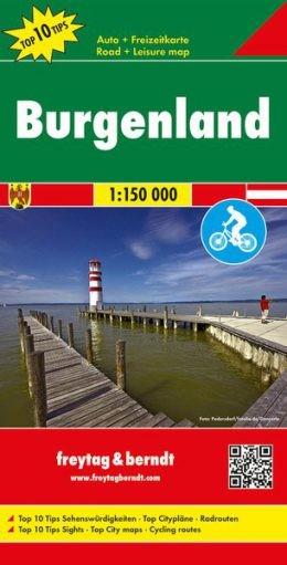 F&B Autokarte + Freizeitkarte Burgenland