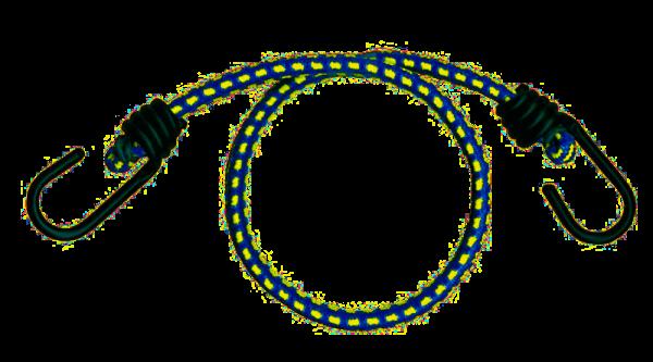 Gummispannkabel beidseitig mit Haken