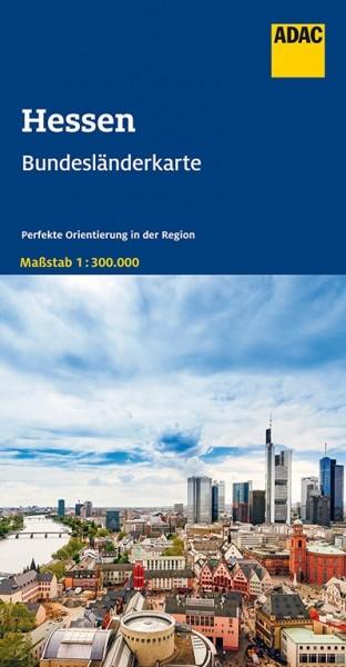 ADAC Bundesländerkarte 7 Hessen