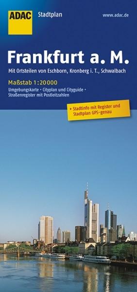 ADAC Stadtplan Frankfurt/Main
