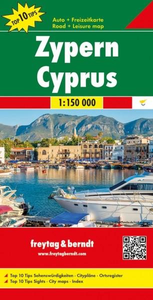 F&B Autokarte + Freizeitkarte Zypern