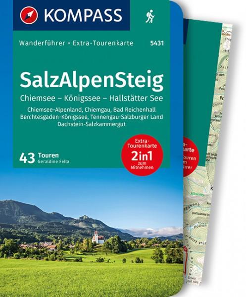 KOMPASS Wanderführer SalzAlpenSteig, Chiemsee