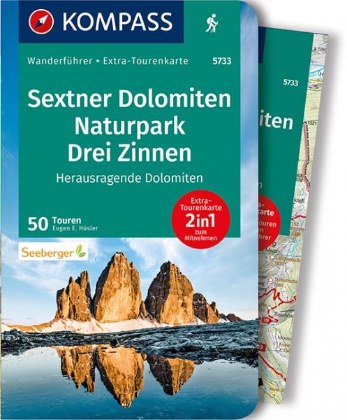 KOMPASS Wanderführer Sextner Dolomiten