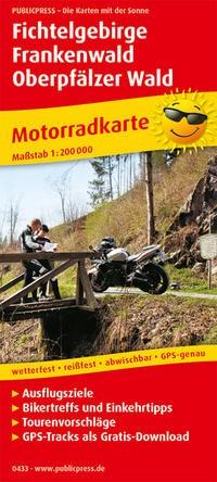 Motorradkarte Fichtelgebirge - Frankenwald