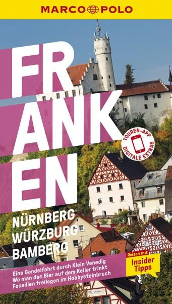 MARCO POLO Reiseführer Franken, Nürnberg, Würzburg