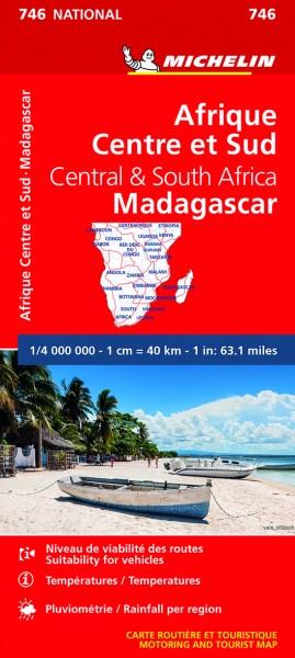 Michelin Zentral- und Südafrika, Madagaskar