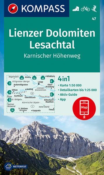 Kompass WK Lienzer Dolomiten, Lesachtal
