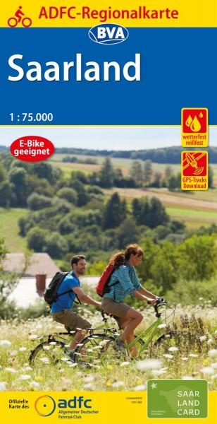 ADFC Regionalkarte Saarland