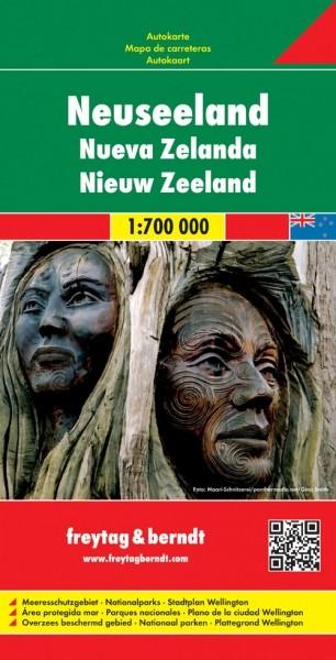 F&B Autokarte Neuseeland