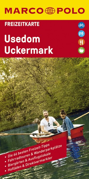 MARCO POLO Freizeitkarte Usedom, Uckermark