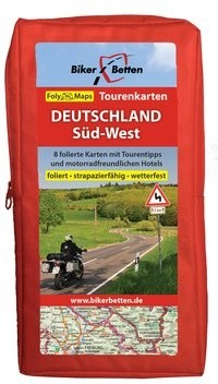 FolyMaps Tourenkarten Set Deutschland Süd-West