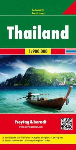 F&B Autokarte Thailand