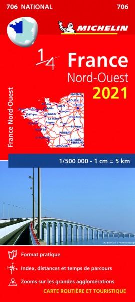 Michelin Nordwestfrankreich